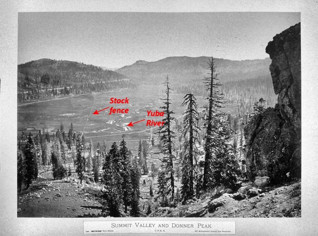 Summit Valley from Beacon Hill circa 1860s