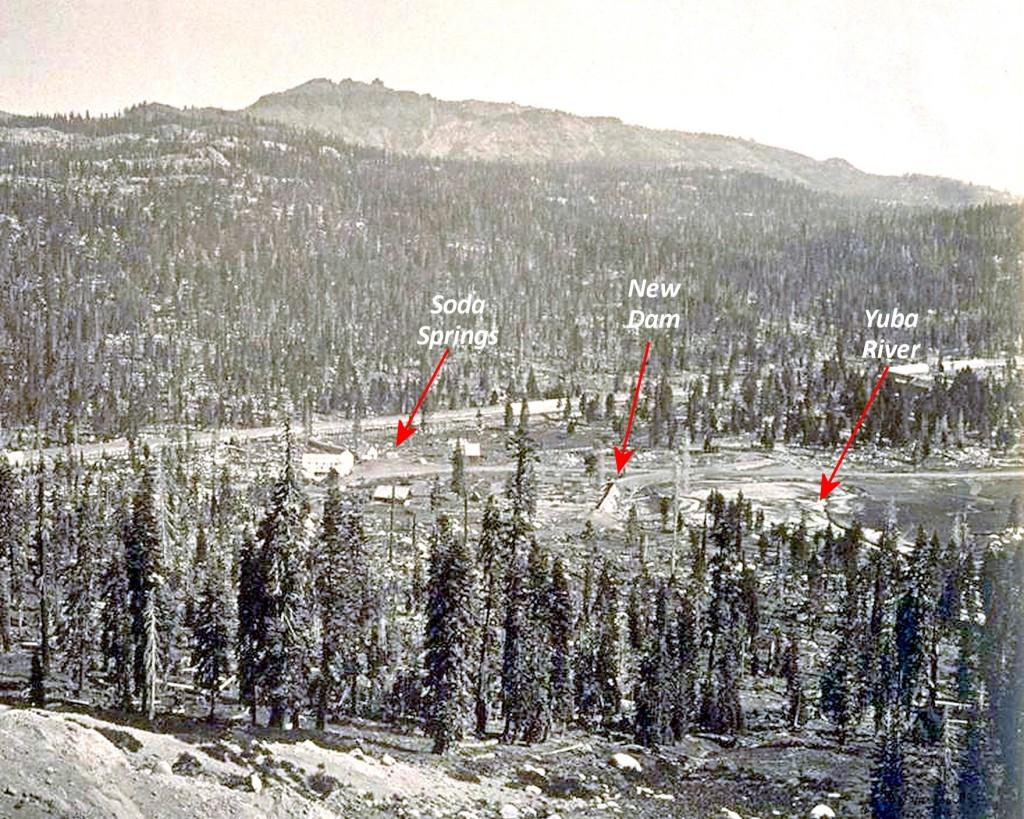 Van Norden Dam circa 1870s enlarged