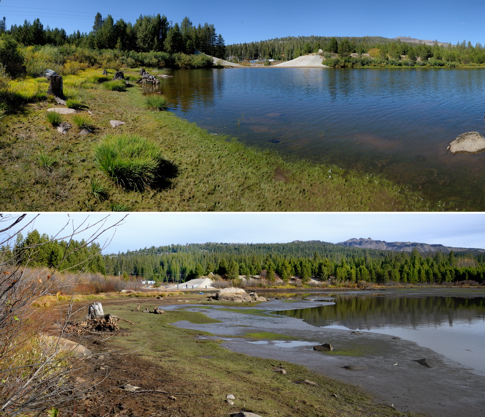 Van Norden lake draining comparison2 10-26-15