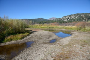 Dry input of Yuba into Van Noden Lake - September