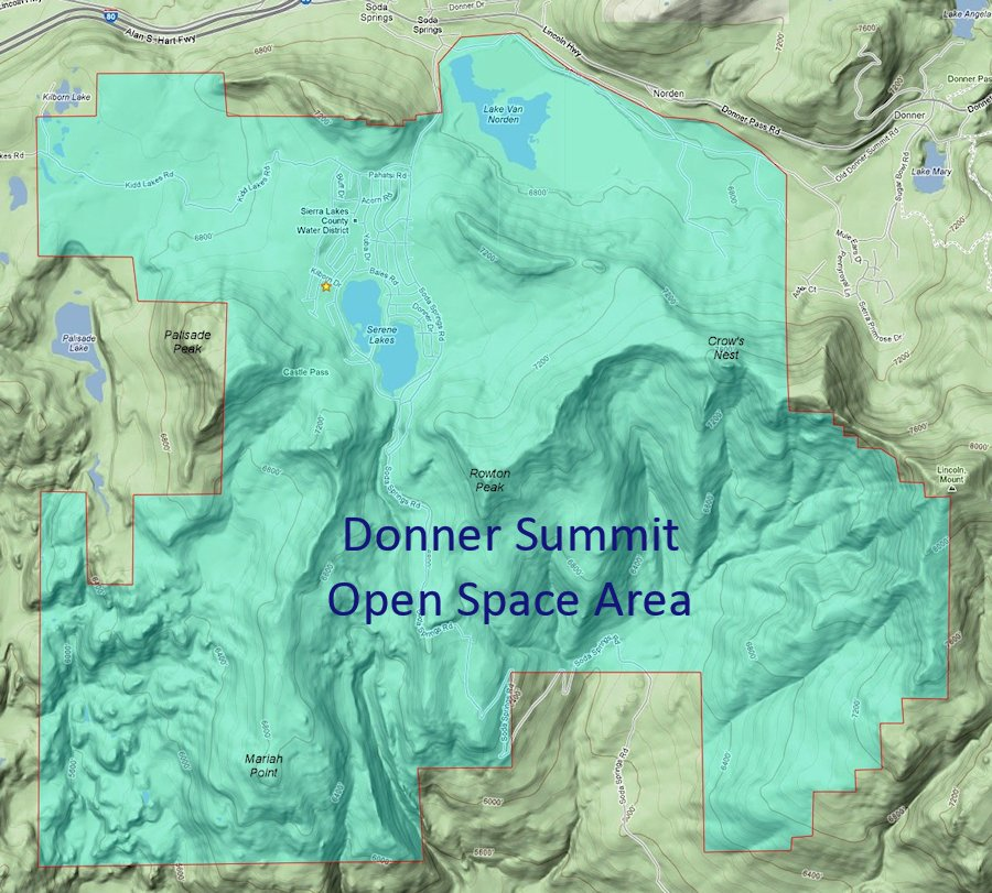 Donner Summit Open Space Area Dsosa Onthesummit