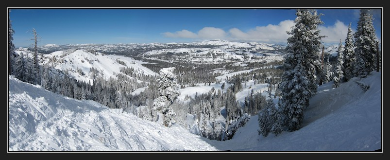 Donner Summit from Mt Lincoln pano1 2-20-13