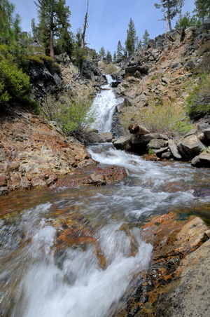 Serena Creek falls in Royal Gorge area-19 5-15-13