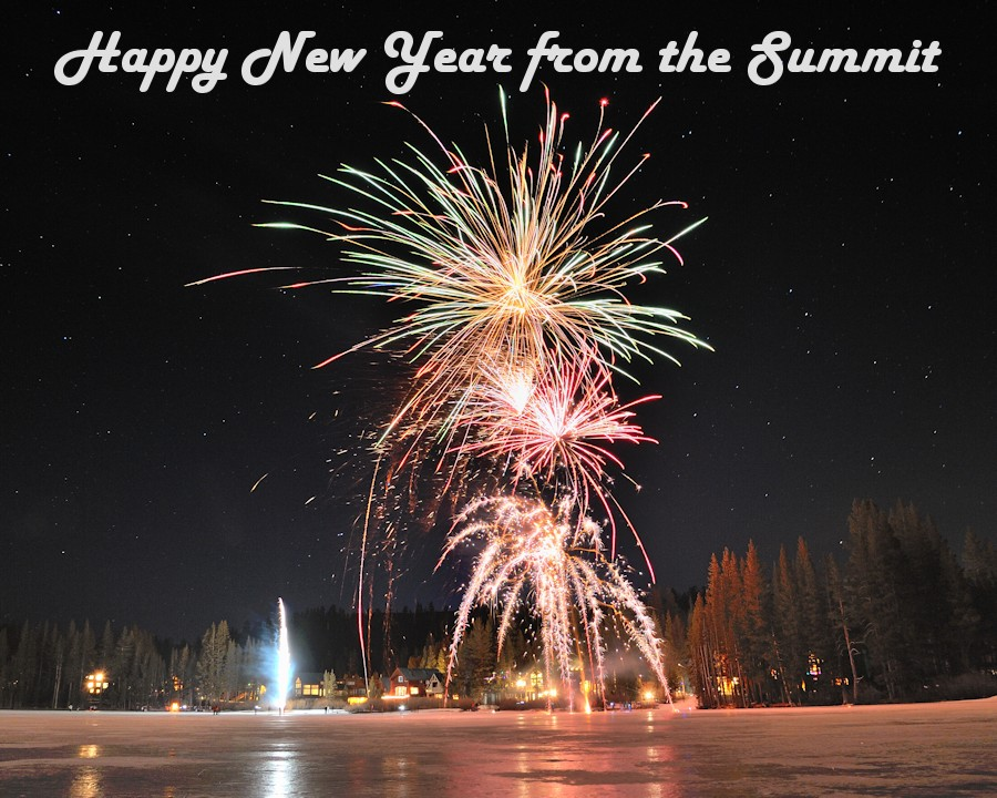 Happy new year from the summit2014
