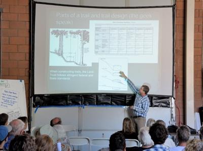JohnSvahn speaking at TDLT outreach meeting at Serene Lakes-02 7-21-13