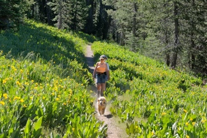 Calla LC Ann hiking in Royal Gorge area-02 7-11-12