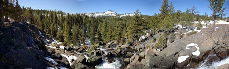 Palisade Creek Falls pano1 4-10-14
