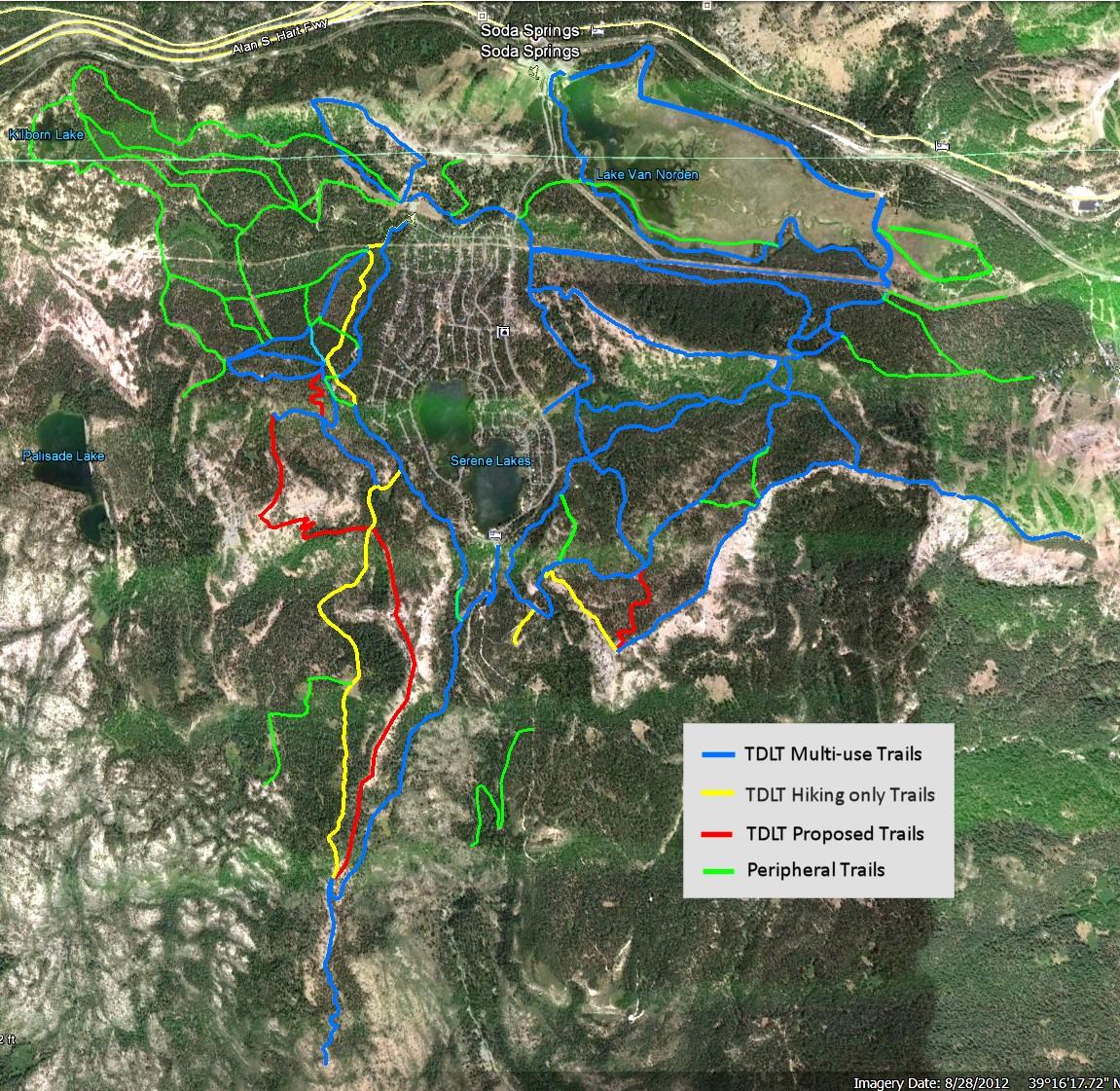 Royal Gorge Trails Satmap 4-16-14