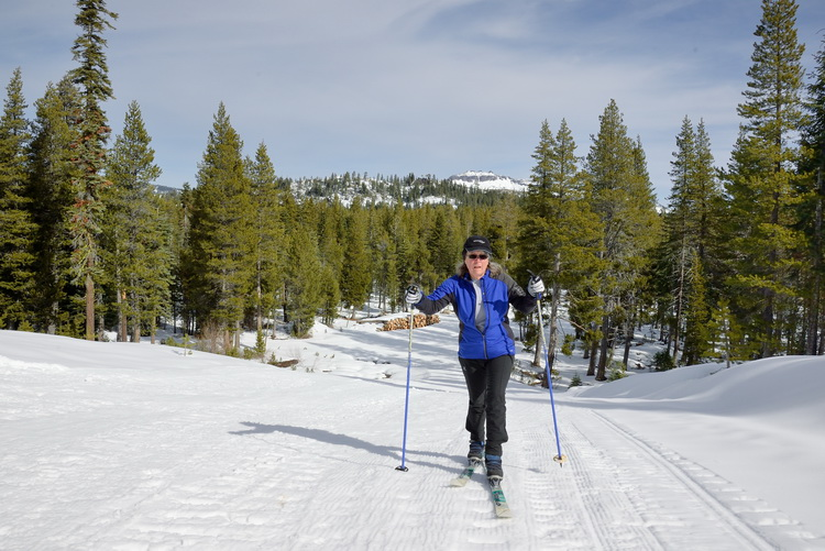 LC skiing up to Palisade Peak in Royal Gorge area-05 2-12-15