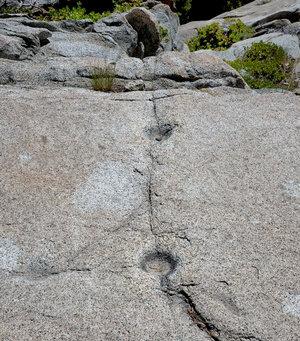 Grinding rocks