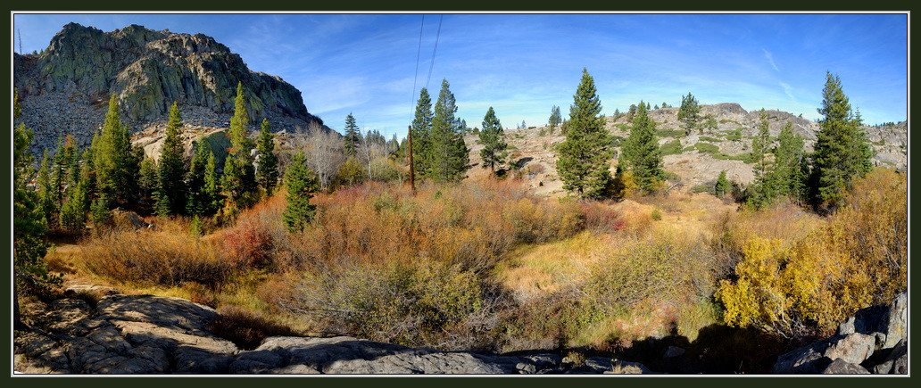 Upper area of Donner Pass pano1-2 10-8-15
