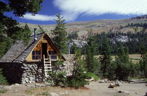 Peter Grubb hut at Donner Summit
